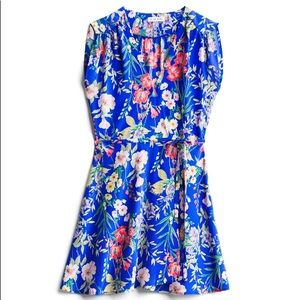 Yumi Kim Lexey Silk Dress (L, Blue)